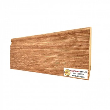 Плинтус Teckwood Дуб Бостон (Oak Boston) 100мм